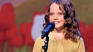 Holland's got talent 2013 - Amira Willighagen - O mio babbino caro - Nine years old, a Miracle