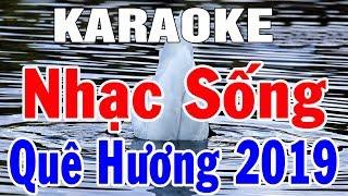 Karaoke Nhạc Sống Cha Cha Cha Mới Nhất | Liên Khúc Hòa Tấu - Nhạc Sống Thôn Quê | Trọng Hiếu