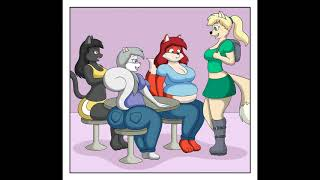 Fat furs and anime girls by Lordstormcaller