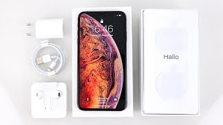iPhone Xs Max Space Gray Unboxing