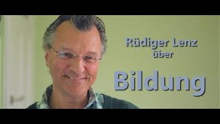 Rüdiger Lenz über Bildung | Nichtkampf.tv - THEMA