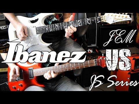 GUITAR BATTLE : Ibanez Jem VS Ibanez JS1200