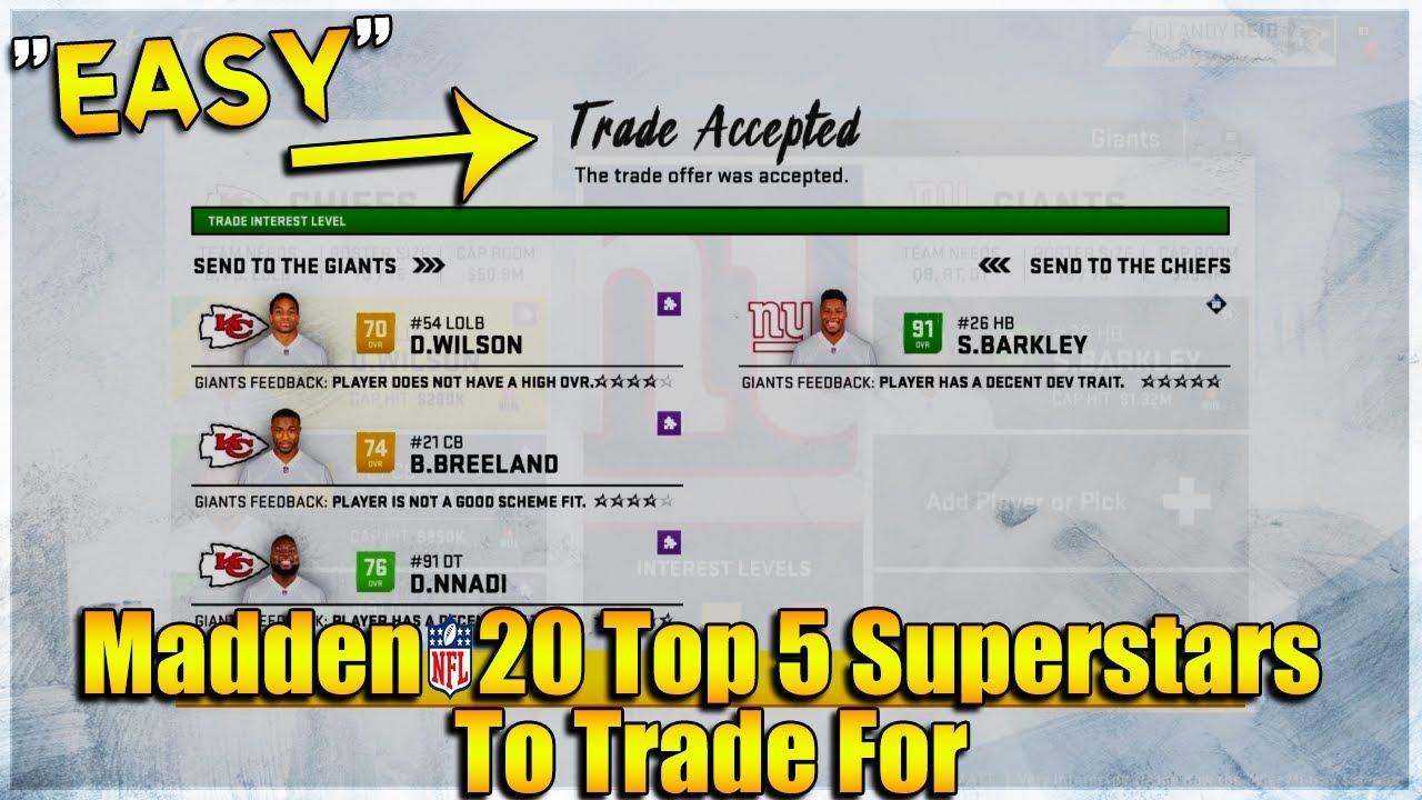 easy madden 20 trades