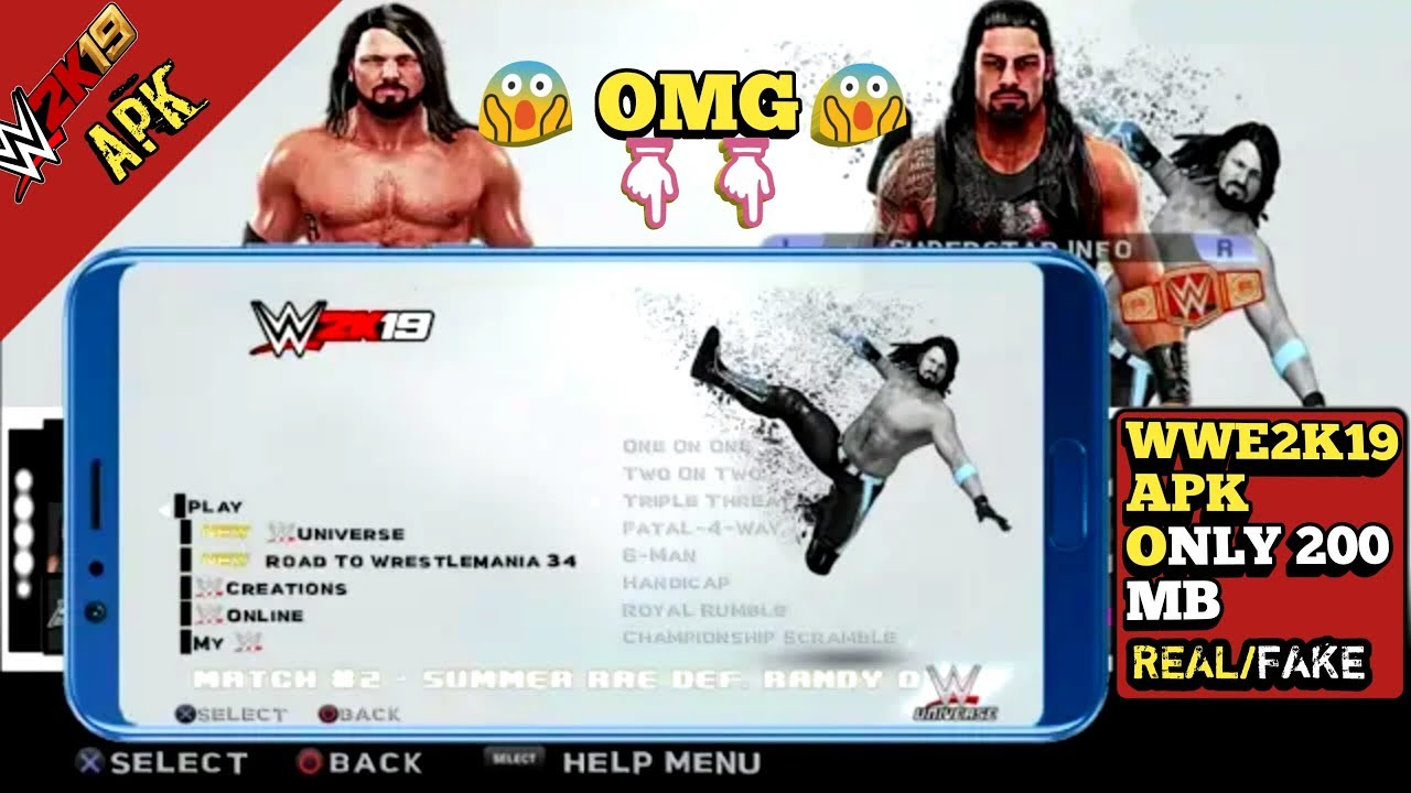 How To Download Real Wwe 2k19 For All Android Devices Wwe 2k19 Android Ios Mobile Gameplay Youtube