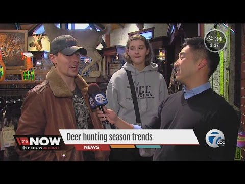 Deer hunting season trends