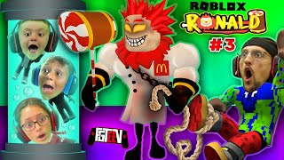 ROBLOX RONALD 3!  FGTeeV vs The Mad Scientist Lab ESCAPE! (Use Star Code: FGTeeV)