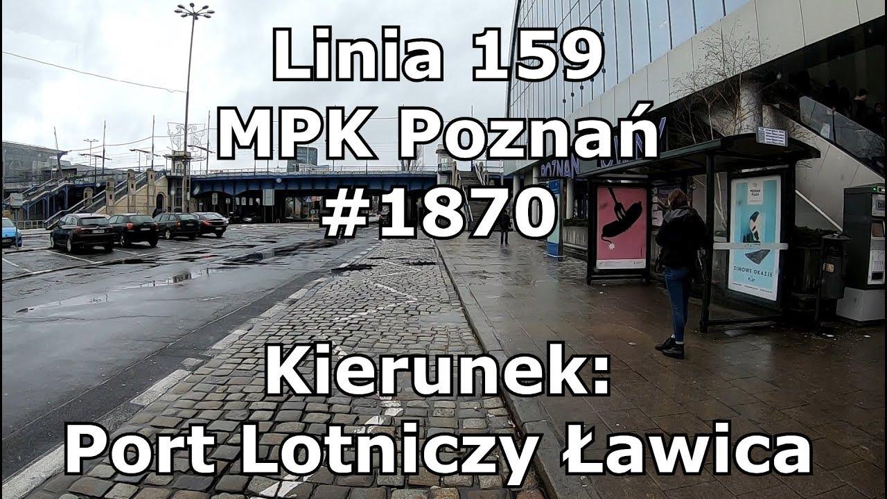 """Znalezione obrazy dla zapytania: linia 159 poznań"""""""