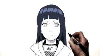 vuclip How to Draw Hinata | Step by Step | Naruto