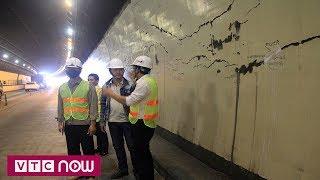 Hầm Hải Vân nứt không phải do nổ mìn   VTC1
