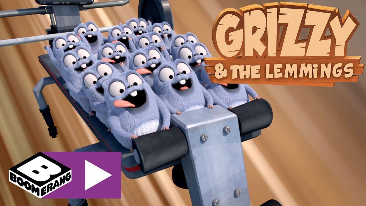 Grizzy I Lemingi Fitness Na Maksa Boomerang Youtube