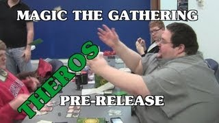Boogie Goes to a Magic: The Gathering Pre-release for Theros