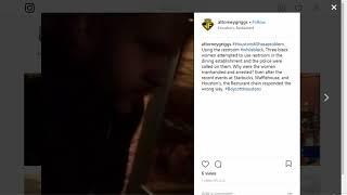 Video shows Atlanta officer arrest 3 women outside of Houstons restaurant