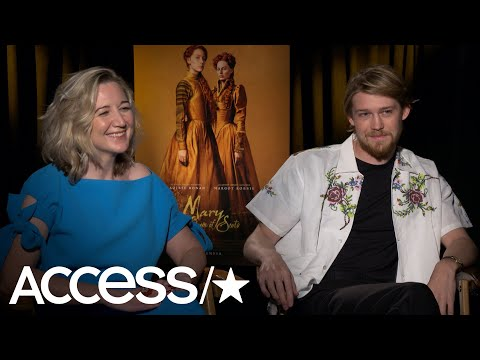 'Mary Queen Of Scots': Joe Alwyn & Josie Rourke Dish On Working With Margot Robbie | Access