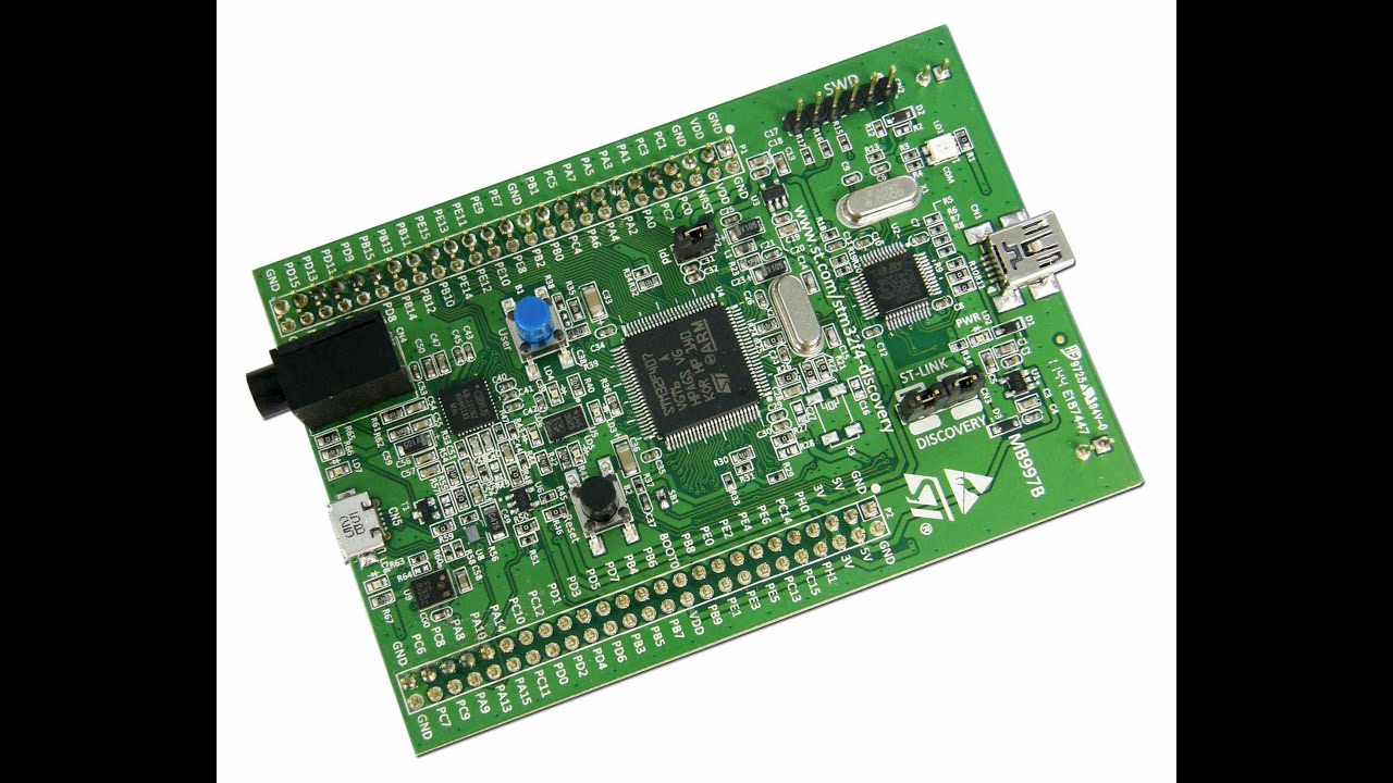 Audio Weaver Setup for the STM32F407 Discovery Board