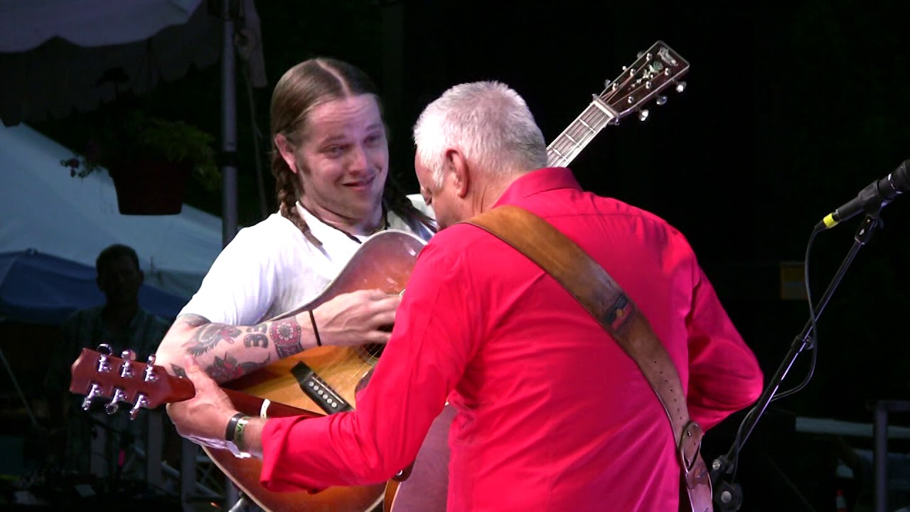 """Download Tommy Emmanuel and Billy Strings, """"Guitar Boogie,"""" Grey Fox 2019"""