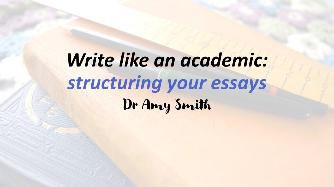 Structuring essays
