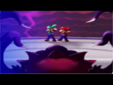 Mario Luigi Partners In Time Final Boss Elder Princess Shroob No Damage Mostly