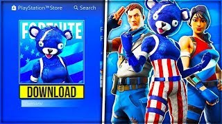 Fortnite - Buying *NEW* Fireworks Team Leader Skin! & Sparkler Emote ( New Stars & Strips Set)