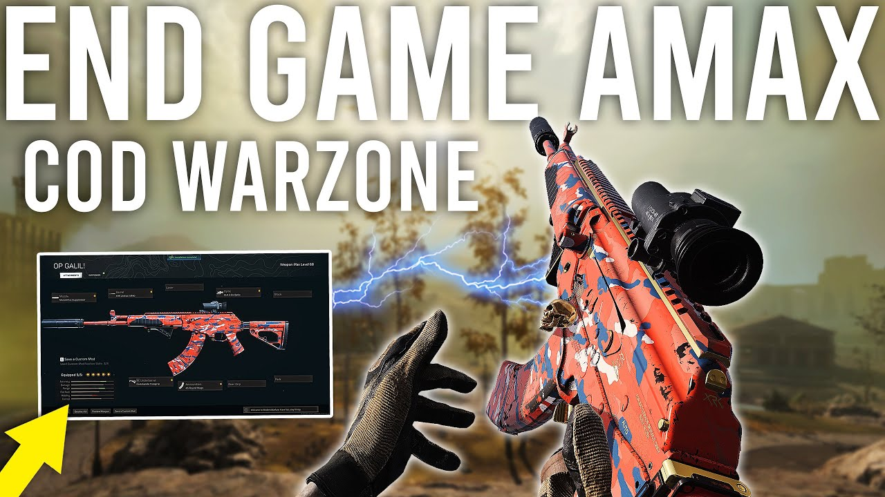 Download The BEST AMAX BUILD in COD Warzone should not be allowed...