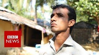 'Opening my home to 130 Rohingya' - BBC News