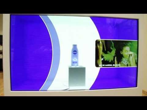Nivea Touch Screen App as POS