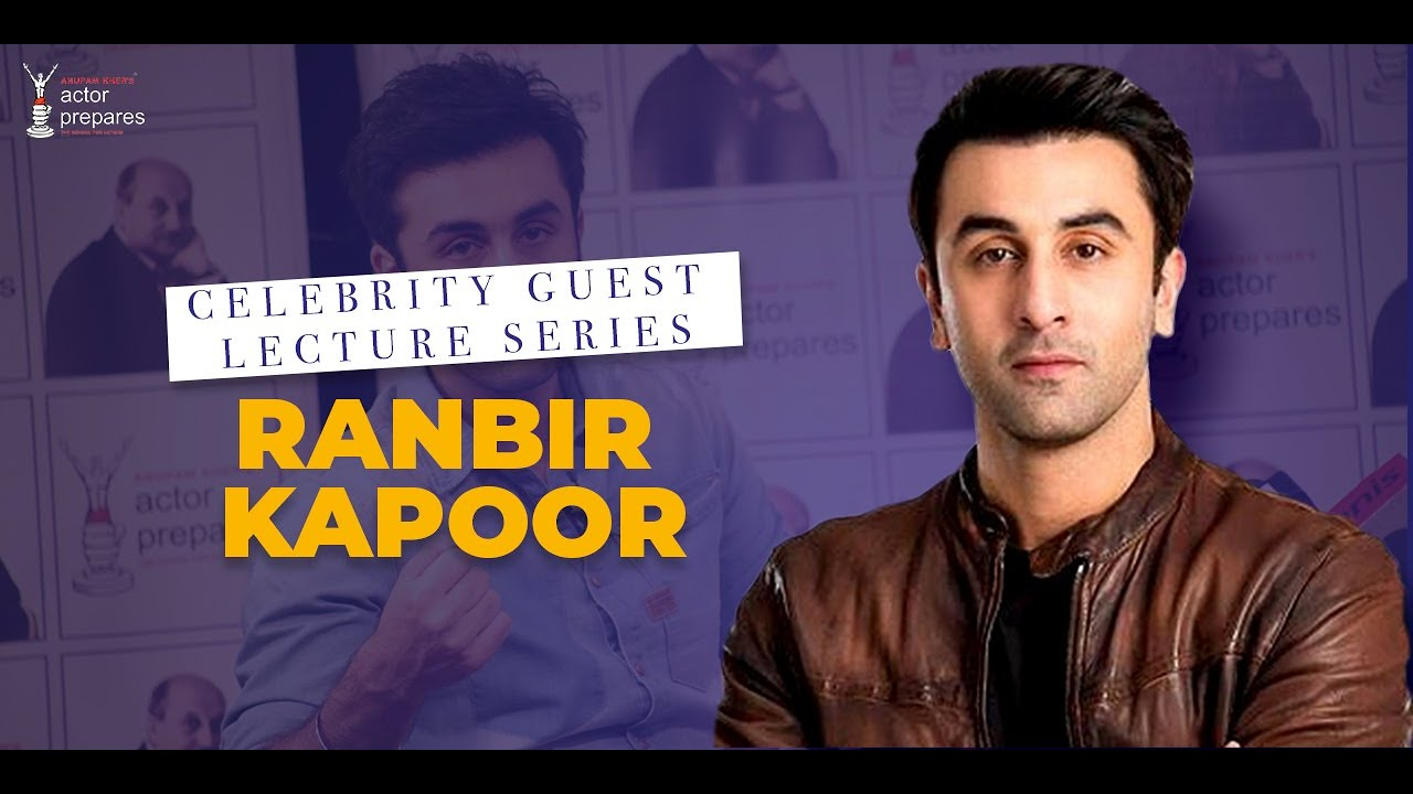 Celebrity Guest || Ranbir Kapoor at Actor Prepares