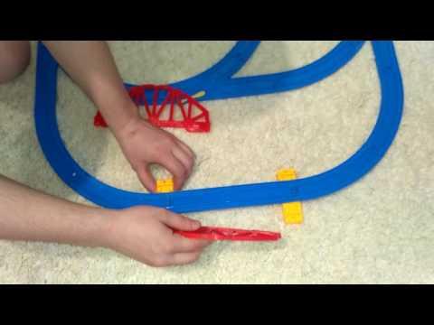 Как собрать детскую железную дорогу