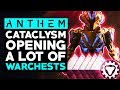 Anthem Cataclysm - Warchest Opening, Checking Out the New Stuff & Testing Loot Drops