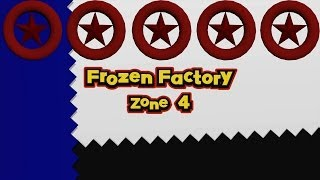 Sonic Lost World - Frozen Factory Zone 4 - All Red Star Rings