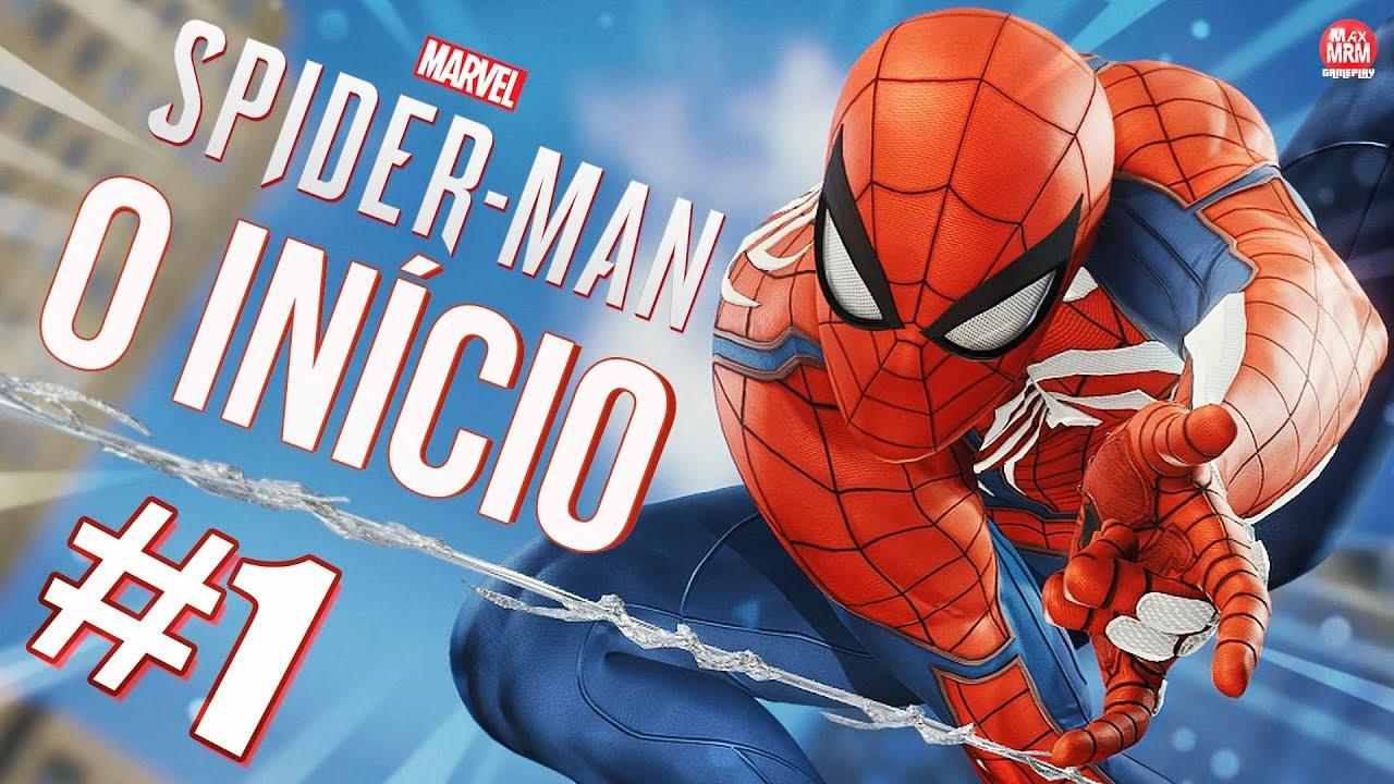 Spider Man De Ps4 O Início De Gameplay Dublado E Legendado Em Português Pt Br Ps4 Pro
