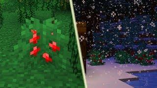 JAGODY! Oficjalnie Zaprezentowane w Minecraft 1.14!