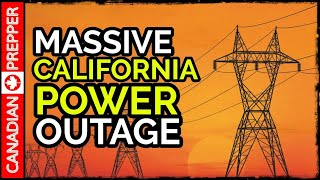 Massive California Power Outage / Wildfires: What's Really Going On?