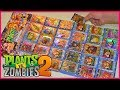 Complete Set of Plants vs Zombies PVZ 2 Trading Card Game Playing Cards Unique Plants and Zombies