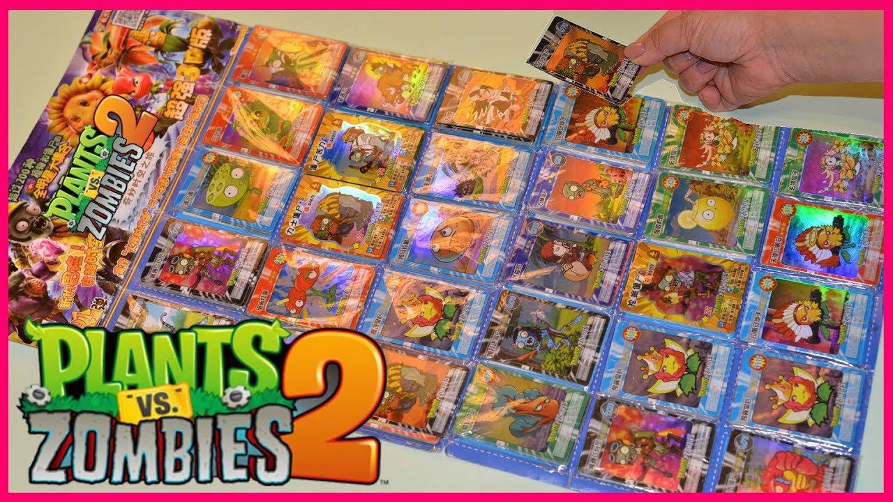 PLANTS VS ZOMBIES PLAYING CARDS Action- & Spielfiguren