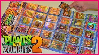 Complete Set of Plants vs Zombies PVZ 2 Trading Card Game Playing Cards Unique Plants and Zombies thumbnail