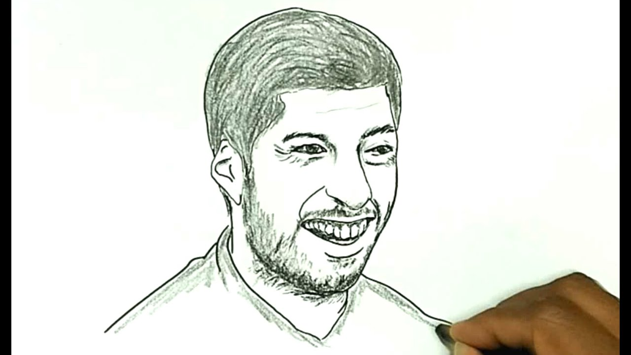 How to Draw Luis Suarez  YouTube