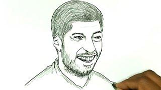 How to Draw Luis Suarez