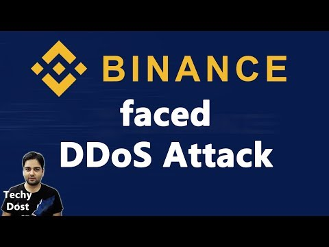 Binance faced DDoS Attack