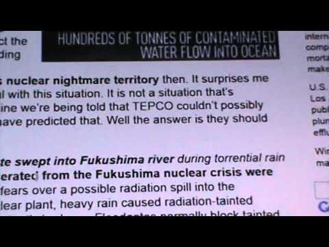 ALERT ER ALERT FUKUSHIMA: H20 RAD RISE, PLANT NOT STABLE!!!