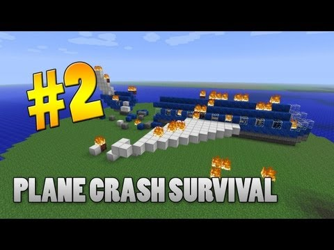 Minecraft 1.3.2 Adventure Map - Plane Crash Survival: Part 2