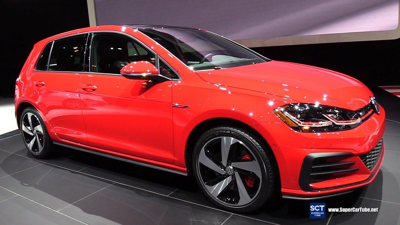 2018 Volkswagen Golf Gti Exterior And Interior Walkaround Debut 2017 New York Auto Show