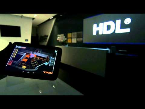 THRONE in HDL Showroom  (THRONE - 3D smart home interface, 3D интерфейс умного дома)