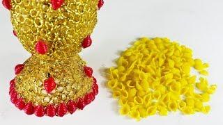 পাস্তা দিয়ে ইউনিক আইডিয়া   Diy Art And Craft With Pasta
