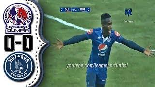 Olimpia vs Motagua 0-0│Resumen Completo HD│Liga 5 Estrellas (10-29-2017).