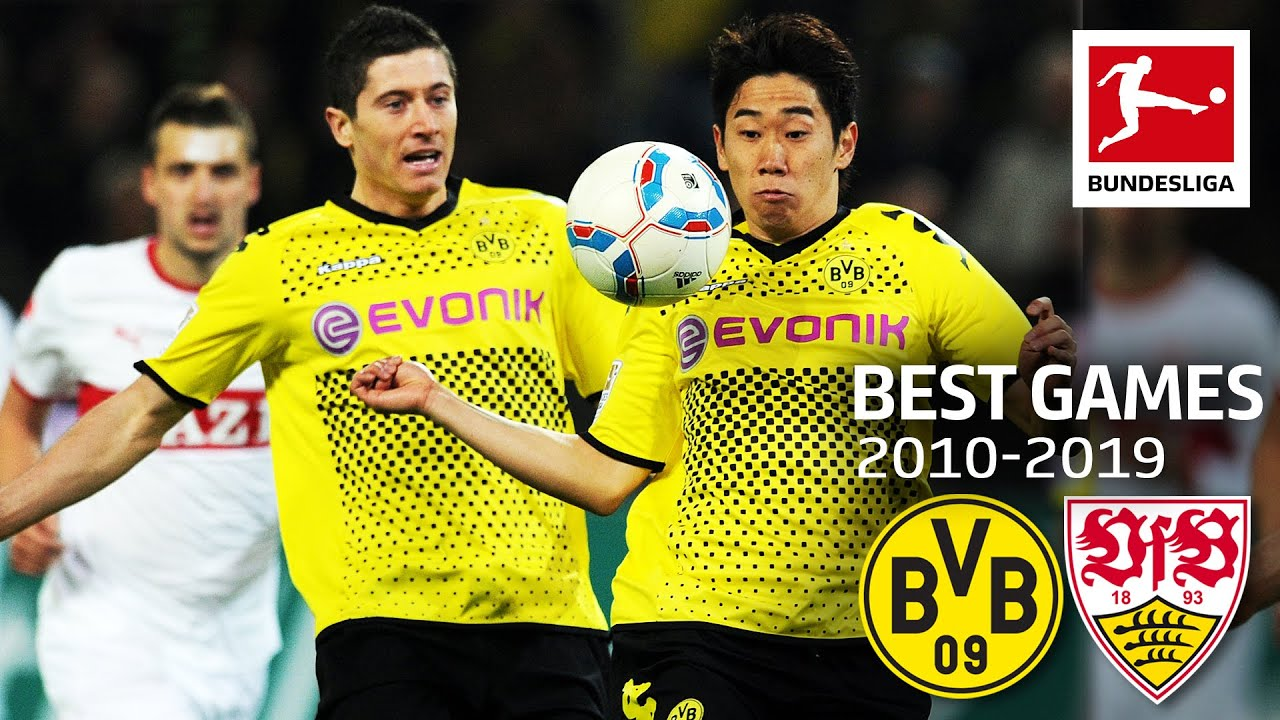 Borussia Dortmund vs. VfB Stuttgart  4-4 | The Best Games Of The Decade 2010-2019