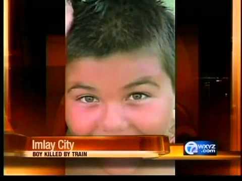 Boy killed by train in Imlay City