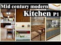 10+ Best Mid century modern Kitchen design ideas P1