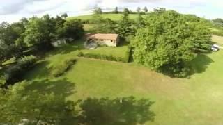 Le Soulan du Moulin vue aérienne à Castera Verduzan