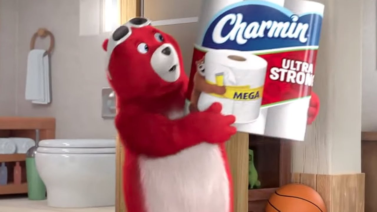 Charmin Clean Commercial: Charmin's New Forever Rolls Lasts a
