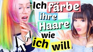 Ich färbe die Haare meiner BFF wie ICH WILL 😱 | ViktoriaSarina